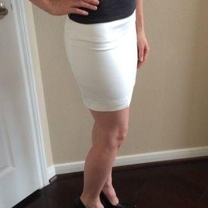 Mini Skirt White Express